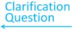 clarification question arrow 1