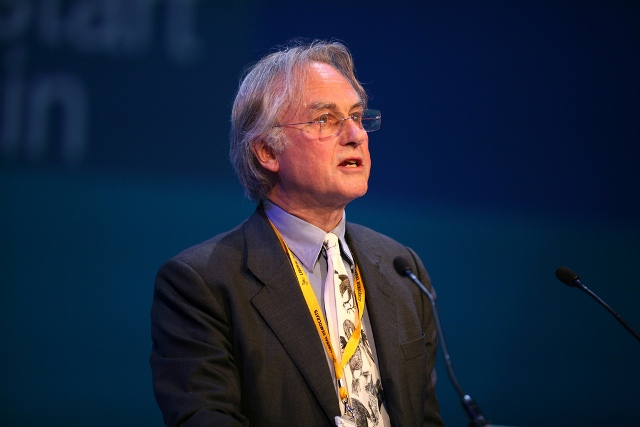 Professor Richard Dawkins at Lib Dem Party Conference, Bournemouth Sept 09. Credit Alex Folkes/Fishnik Photography