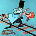 Snidely Whiplash Is Not on Facebook
