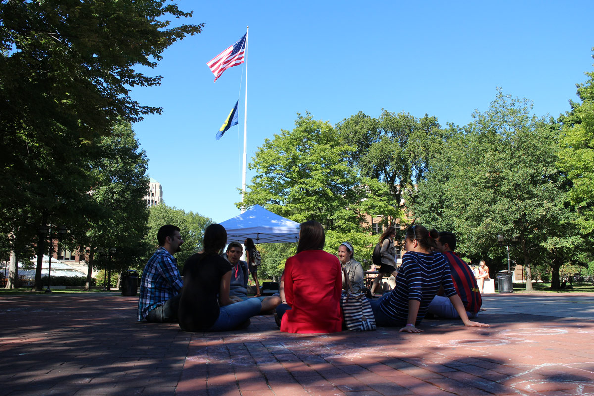 Outreach at University of Michigan