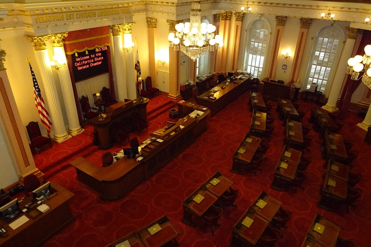 Picture: California State Senate Chambers