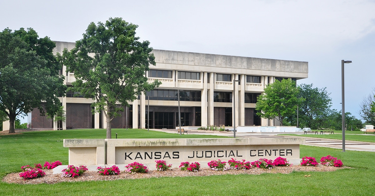 Kansas Judicial Center building.