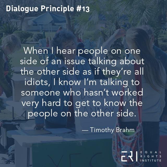 Dialogue-Principle #13